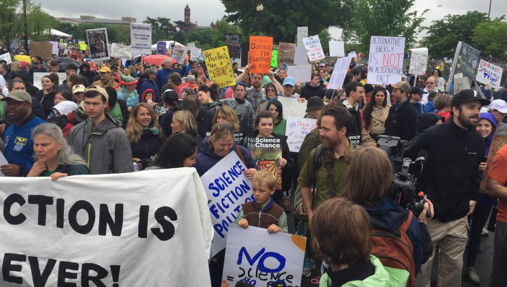 Group Photo of March for Science Rally